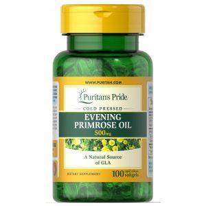 Puritan's Pride, Evening Primrose Oil 500 mg with GLA 100