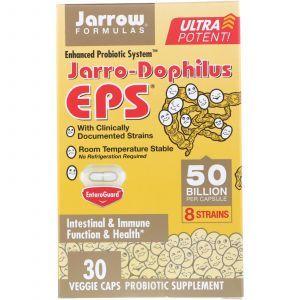 Пробиотики дофилус, Jarro-Dophilus EPS, Jarrow Formulas, 50 миллиардов, 30 капсул (Default)