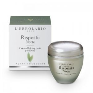 Крем для лица интенсивный, Crema Risposta Notte, L'Erbolario, ночной, 50 мл