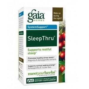 Здоровый сон, Gaia Herbs, 60 капсу