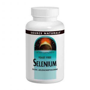 Селен, Source Naturals, 200 мкг, 120 таблеток
