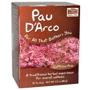 По д'арко, Now Foods, 24 чайных пакетика (48г.)