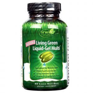 Мультивитамины для женщин, Irwin Naturals, 90 кап.
