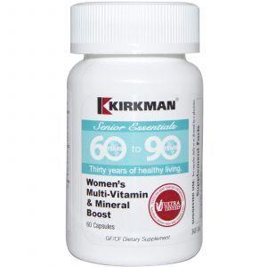 Мультивитамины для женщин, Kirkman Labs, 60+, 60 кап.