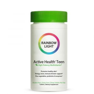Витамины для подростков с комплексом для кожи, Active Health Teen, Rainbow Light, 90 таблеток