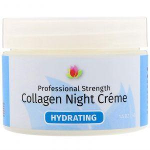 Ночной крем с коллагеном (Collagen Night Cream), Reviva Labs, (42 г)