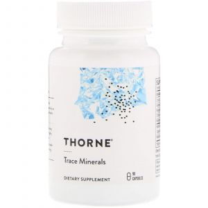 Микроэлементы, Trace Minerals, Thorne Research, 90 капсул