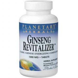 Женьшень, Planetary Herbals, 1000 мг , 180 таб