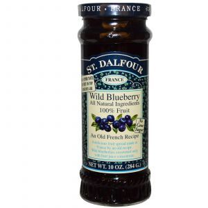 Черничный джем, Blueberry Spread, St. Dalfour, 284 г.