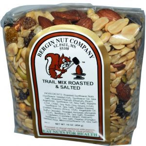 Соленая походная смесь, Trail Mix, Bergin Fruit and Nut Company, 454 г