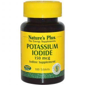 Йод, Nature's Plus, 150 мкг, 100 таблеток