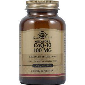 Коэнзим Q10, Solgar, 100 мг, 90 капсу