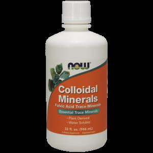 Коллоидные минералы, Colloidal Minerals, Now Foods, 946 м
