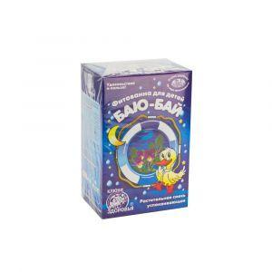 Фитованна №6 Баю-бай , Ключи здоровья, для детей, успокоительный, 3 фильтр-пакета по 30 г