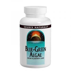 Сине-зеленые водоросли, Source Naturals, 200 таблеток (Default)
