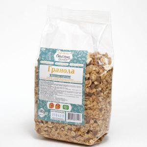 Гранола Фруктово-ореховая (в полипропиленовой упаковке), Оats&Honey, 500 г