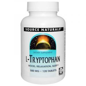 L-триптофан, Source Naturals, 500 мг, 120 капсул (Default)