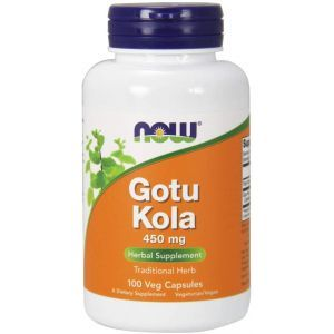 Готу кола (Gotu Kola), Now Foods, 450 мг, 100 капсул