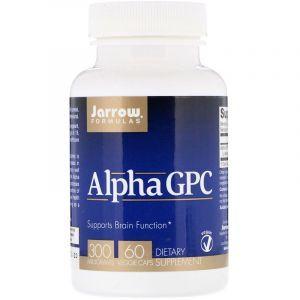Альфа, Alpha-GPC, Jarrow Formulas, 300 мг, 60 кап. (Default)