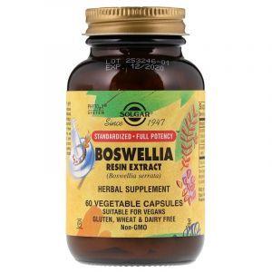 Босвелия (Boswellia Resin), Solgar, экстракт, 60 капсул (Default)
