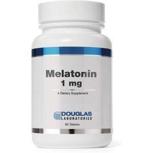 Мелатонин, Melatonin, Douglas Laboratories, 1 мг, 60 таблеток