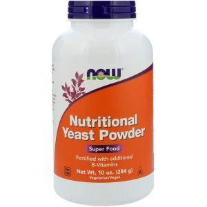Противокандидное средство, Nutritional Yeast, Now Foods, порошок, 284 г