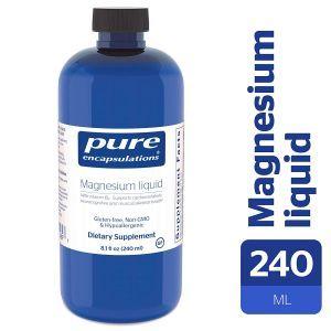 Магний (жидкость), Magnesium liquid, Pure Encapsulations, 240 мл (Default)