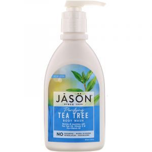 Гель для душа, масло чайного дерева, Body Wash, Jason Natural, очищающий, 887 мл (Default)