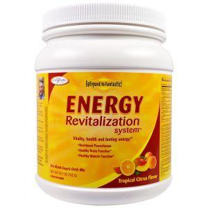 Восстановление энергии, Energy Revitalization System, Enzymatic Therapy (Nature's Way), от усталости, цитрус, 702 г. (Default)