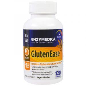 Ферменты для переваривания глютена, GlutenEase, Enzymedica, 120 кап (Default)