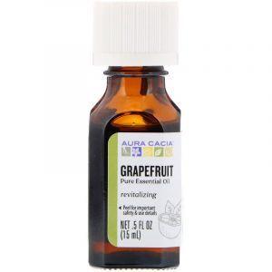 Эфирное масло грейпфрута (Essential Oil Grapefruit), Aura Cacia, 15 мл (Default)
