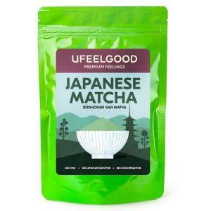 Чай Матча, Ufeelgood, органик, японский, 100 гр.