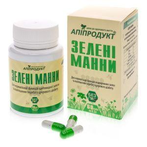 Зеленые манны, Green manna, Апипродукт, 60 таблеток.