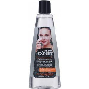 Угольная мицеллярная вода для всех типов кожи Detox Expert, 300 мл