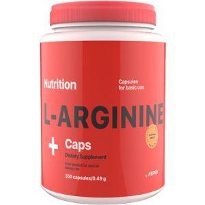 L-Аргинин, L-Arginine, AB PRO Nutrition, 350 капсул