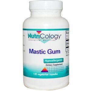 Смола мастикового дерева, Mastic Gum, Nutricology, 120 кап.