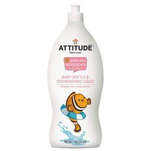 Жидкость для мытья детской посуды, ATTITUDE, 700 мл