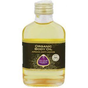 Аргановое масло для тела, Organic Body Oil Argan Anti-Aging, Eliah Sahil, 100 мл