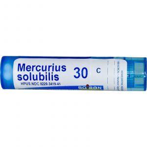 Гомеопатические таблетки от боли в горле, Boiron, 80 таб.