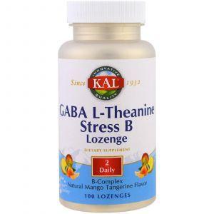 L-теанин, L-Theanine, KAL, 100 таблеток