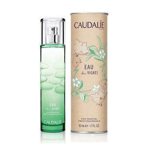 Освежающая Вода, Fresh Fragrance Eau des Vignes, ароматическое путешествие по виноградникам, Caudalie, 50 мл