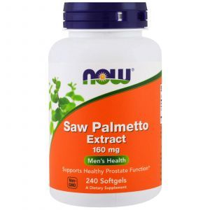 Профилактика простаты (простатита), Saw Palmetto, Now Foods, 240 ка