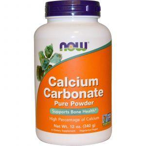 Карбонат кальция (порошок), Calcium Carbonate, Now Foods, 340