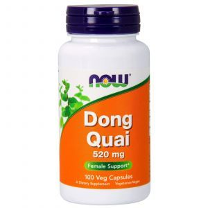 Дягиль лекарственный (Dong Quai), Now Foods, 520 мг, 100 ка