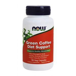 Кофе зеленый (для похудения), Green Coffee, Now Foods, 90 к