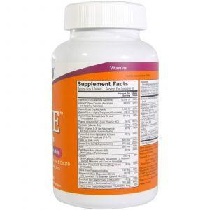 Витамины для женщин Ева, Eve, Women's Multi, Now Foods, 180 табл