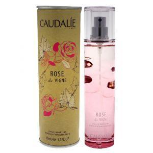 Освежающая вода, Rose de Vigne Fresh Fragrance, ароматическое путешествие по виноградникам, Caudalie, 50 мл