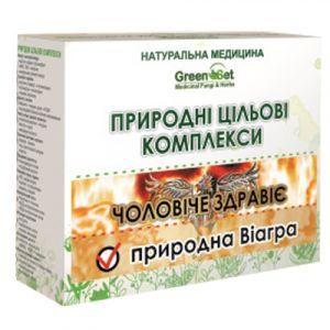 Естественная Виагра - естественный половой стимулятор, GreenSet, природный целевой комплекс, курс 2, растительные препараты, 4 шт