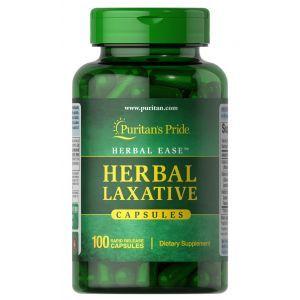 Слабительное средство, HerbalLaxative, Puritan's Pride, 100 капсул