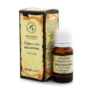 Эфирное масло эвкалипта, Ароматика, 10 мл
